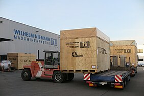 NIEMANN Delivery - Jotun Factory Egypt