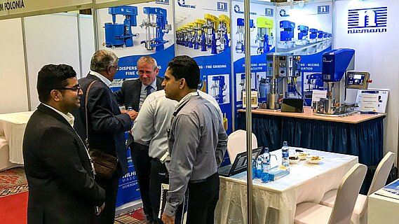 WILHELM NIEMANN auf dem East African Coatings Congress