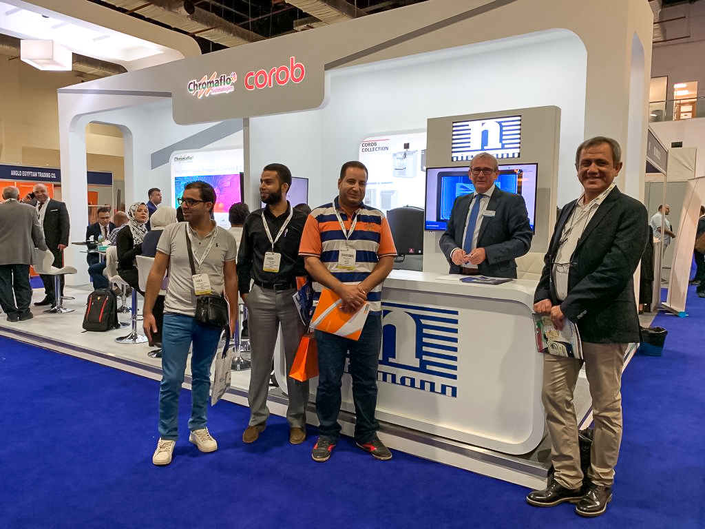 WILHELM NIEMANN auf der Egyptian Coatings Show 2019 in Cairo